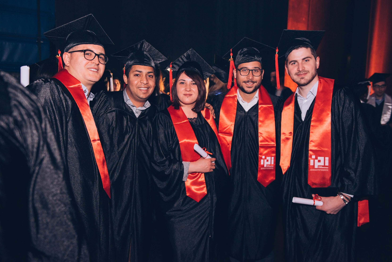 Remise des diplômes Groupe IGS - IPI