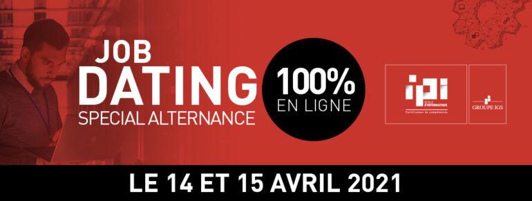 Job Dating IPI Paris avril 2021