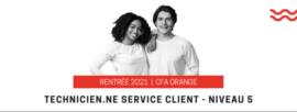 Rentrée 2021 2e promotion TSC Orange
